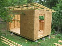 diy modern shed project building a