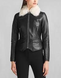 belstaff liv tyler roxie shearling collar jacket black belstaff leather belstaff motorcycle jackets