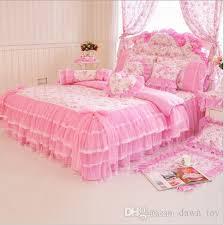 Luxury Lace Bedding Sets Duvet Cover Sets Girls Bedding Children'S ...