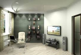 office wall designs. interesting modern interior office design with captivating wall designs tv setup and glass d