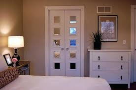 mirrored french closet doors. Modren Mirrored Mirrored French Closet Doors For Inspiration  Ideas Contemporary Bedroom Revere Pewter Sliding  To