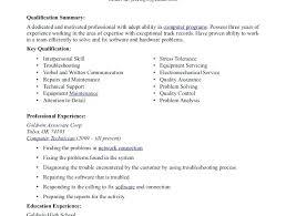 Sample Computer Technician Resume Technician Resume Samples Computer