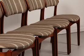 brown leather lounge chair best of mid century od 49 teak dining chairs by erik buch