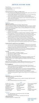Executive Resume Samples And Examples To Help You Get A Good Job