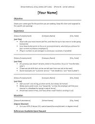 Modern Bullet Points Resume Template Resume Format Download Pdf Chronological Resume