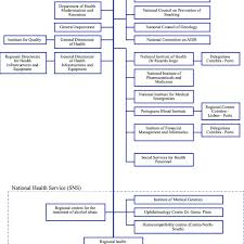 Organizational Chart Of Ministry Of Health Structure