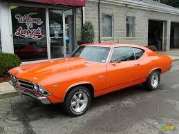 1969 Orange Chevrolet Chevelle SS Coupe #19494229 | GTCarLot.com ...