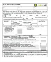 Purchase Agreement Vehicle Vehicle Lease Purchase Agreement Form Auto Contract Beadesigner Co