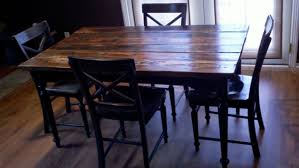 attractive reclaimed wood dining table and chairs handcrafted furniture and decor rustic tables southern california