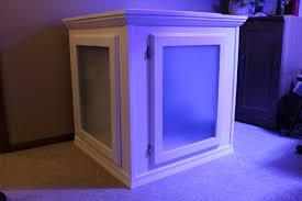 diy building an aquarium cabinet