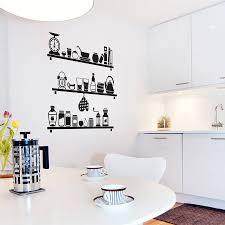 For Kitchen Walls Kitchen Wall Decals To Reduce The Money Usage Island Kitchen Idea