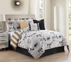 Amazon.com: 7 Piece King Oh-La-La Reversible Comforter Set: Home & Kitchen