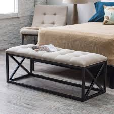 Renate Coffee Table Ottoman Belham Living Grayson Tufted Entryway Bench Bedroom Benches At