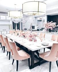 pink dining chairs hot room set ikea fabric