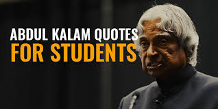 Educational Motivational Quotes Cool 48 Famous Motivational Quotes From Abdul Kalam On Students