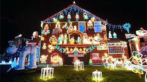 christmas lights on houses. Simple Lights Christmas Lights On Houses Images With Snow  Homes Intended Christmas Lights On Houses I