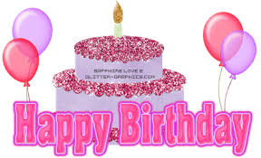 Image result for glitter birthday wishes for sister