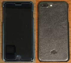 snap on case for apple iphone 7 plus in rolex black leather