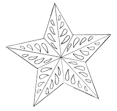 diy making christmas tree decorations tutorial templates star template