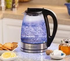 transpa glass electric kettle enlarge image