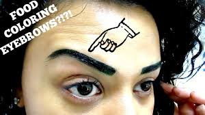 diy brow tinting for natural fuller looking brows