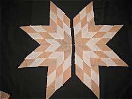 Blazing Star Quilt Block in Peach & Vintage Blazing Star Quilt Block in Peach Adamdwight.com