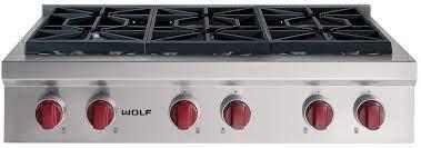 wolf srt366lp 36 inch pro style gas