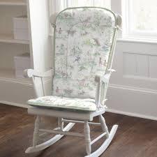 image of shabby chic rocking sofa chair nursery