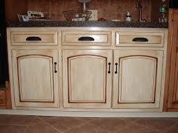 Brilliant Painting Oak Kitchen Cabinets White Wood Before And In Inspiration Decorating