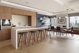 Mobile Kitchen island Floating Counter Long Modern Designs with