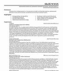 Tech Support Resume Resume Templates