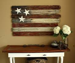 Small Picture I love this rustic patriotic home decor idea Things I Like