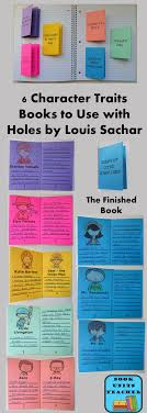 free printables the finished books contain 6 pages where students can list character traits
