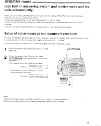 Example Of A Fax Message Km7kx Fm280 Facsimile Machine With Serial Port User Manual 43144