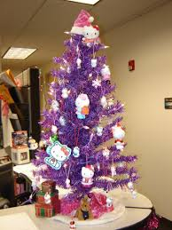 Hello Kitty Xmas Tree Hell Purple. master bedroom decorating ideas. modern  architecture interior design