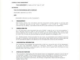 It Consultant Contract Template Insurance Consulting Agreement Email ...