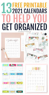 Explore to see what printable you like. 13 Cute Free Printable Calendars For 2021 You Ll Love Hot Beauty Health