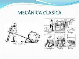 Resultado de imagen de Mecánica clásica