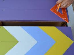 original joanne palmisano_chevron painted dresser step6_h chevron painted furniture