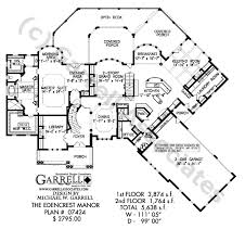 edencrest manor house plan 07424 1st floor plan
