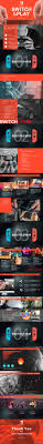 Nintendo Switch Theme Ppt Switch Ppt On Behance