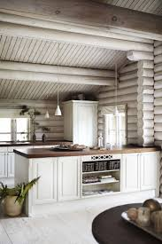 Best  Log Cabin Interiors Ideas On Pinterest - Log home pictures interior