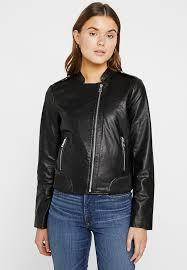 vegan jacket faux leather jacket black