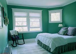 Paint Colors For Bedrooms Green Classic Green Bedroom Painting With White Classic Window Also