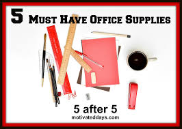 must have office accessories. Office Supply Must Have Accessories