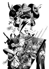 Magazine The Ballpoint Pen Illustrations Of Shohei Otomo
