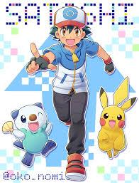 Pin by Alba_Lpzz12 on Pokémon (1997)   Pokemon characters, Ash pokemon,  Pokémon black and white