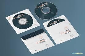 Free Paper Cd Cover Mockup + Cd Mockup Psd | Zippypixels