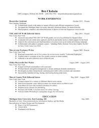 Resume For Graduate School Admission | Samples Of Resumes