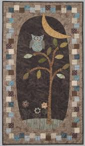 17 Best images about Quilting Borders and Sashing on Pinterest ... & owl quilt love the squares off set around the border Adamdwight.com